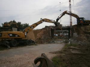 Überführung wird abgerissen