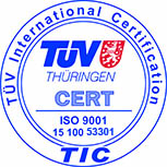 Sigel des TÜV Thüringen International Certification