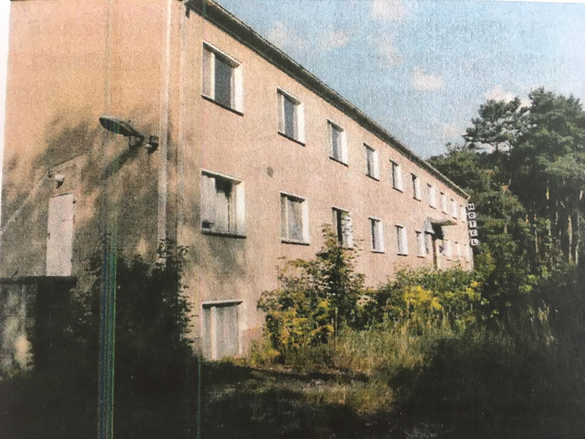 Fläche des ehemaligen Seehotels